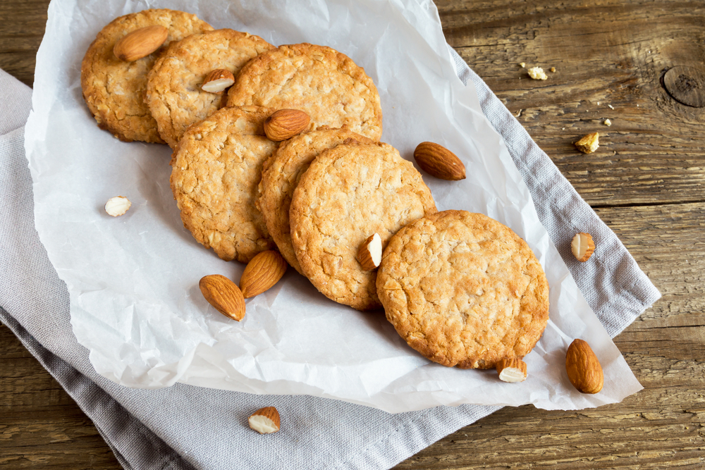 Super Easy and Healthy Almond Butter Cookies